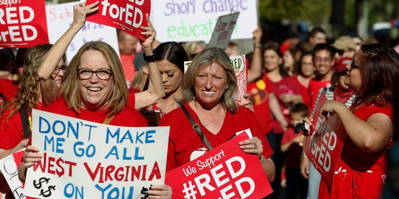 Red State Teachers' Strikes